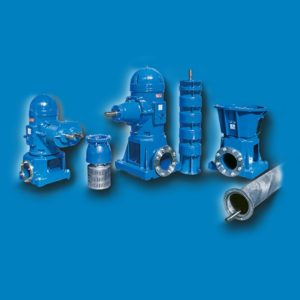 VERTICAL AXIS CENTRIFUGAL PUMPS